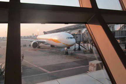 Jet Airways Februar 2016