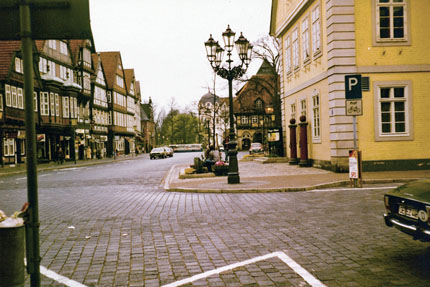 Altes Rathaus in Celle April 1982