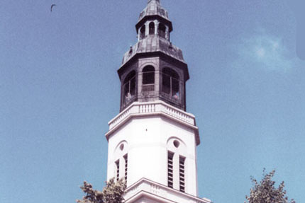 Die Stadtkirche in Celle Juli 1997