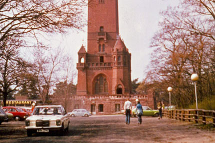 Der Grunewaldturm April 1976