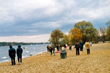 Am Wannsee November 1985