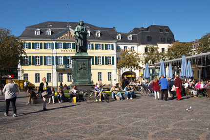Münsterplatz Oktober 2015