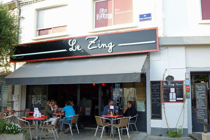 Restaurant Le Zing in Saint-Pierre-d`Oléron September 2010