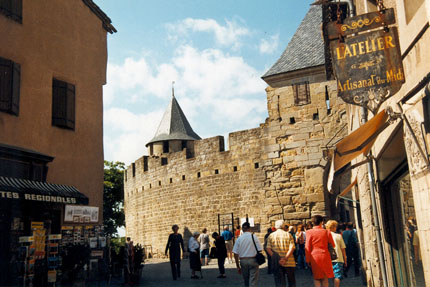 Carcassonne - Innenstadt September 1999