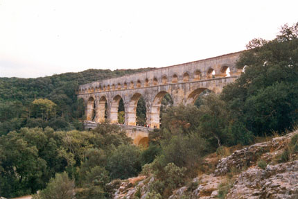 Pont du Gard September 1999