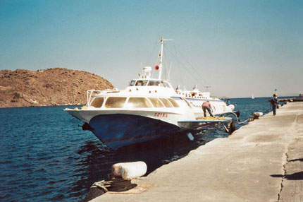 unser Boot nach Kos September 2000