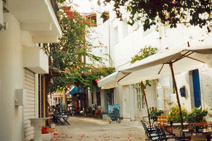 unterwegs in Kos Stadt September 2000