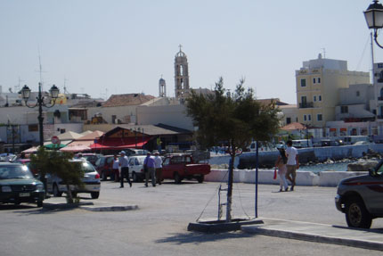 in Tinos Stadt September 2007