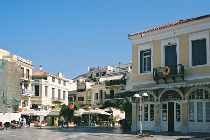 in Samos Stadt (Vathy) September 2006