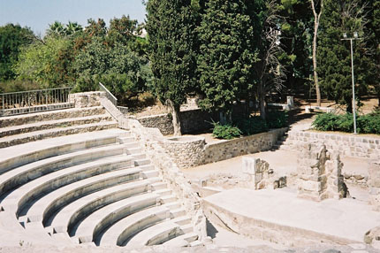 antikes Theater in Kos Stadt September 2006