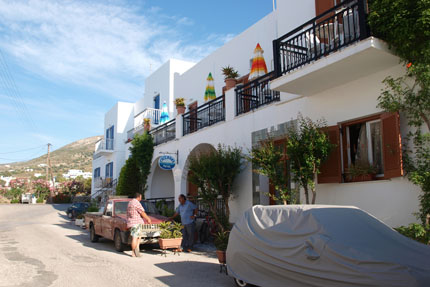 Hotel Cyclades in Parikia Juni 2010