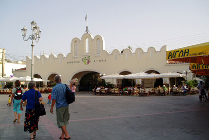 Markthalle in Kos Stadt September 2006