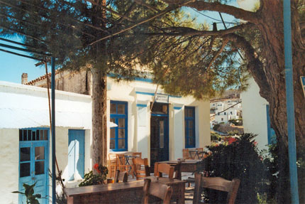 unterwegs in Lefkes September 1994