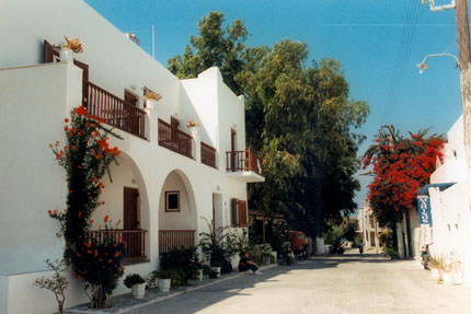 Hotel Cyclades in Parikia September 1997