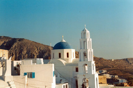 in Pirgos auf Santorin September 1997