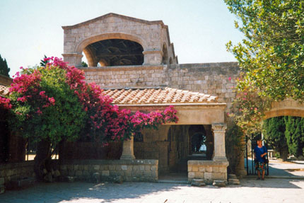 byzantinisches Kloster in Filerimos  Juni 2001