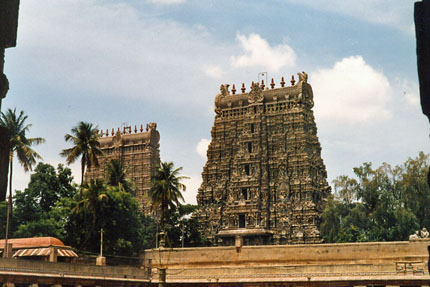 Shree Meenakshi Tempel in Madurai 1987