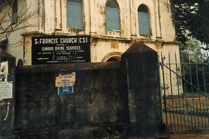 St. Francis Church in Cochin 1987