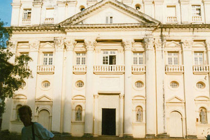 St. Cajetan Old Goa 1989