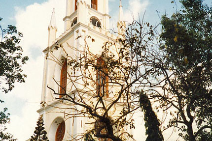 St. James Kirche in Bombay 1989