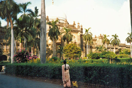 unterwegs in Bombay 1987