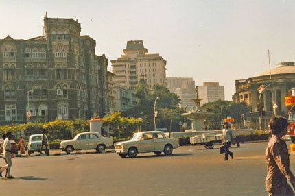 unterwegs in Bombay 1986