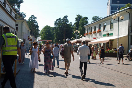 unterwegs in Jurmala Juli 2013
