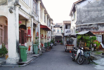 Lebuh Chulia in Georgetown 2008