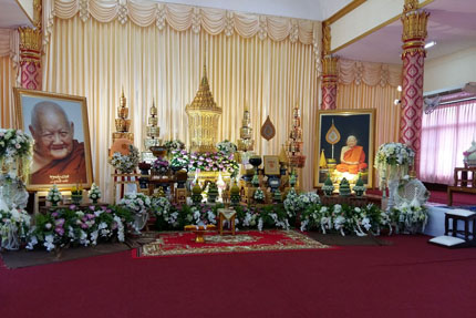 Wat Pho Si Somphon in Udon Thani März 2017