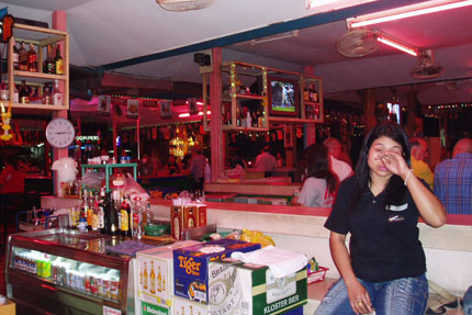 Abends in Pattaya 2005