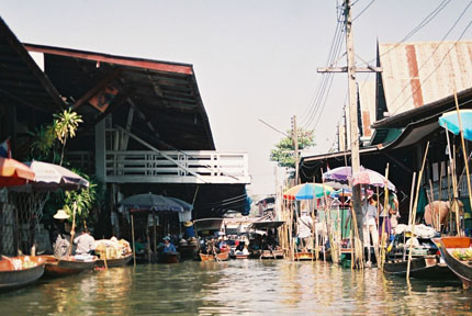 Floating Market in Damnoen Saduak 2008