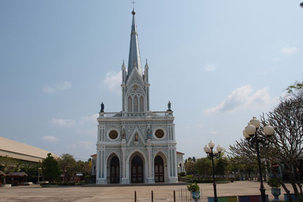 Nativity of Our Lady Cathedral in Bang Nok Kwaek Februar 2019