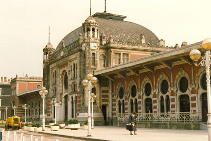 Bahnhof Sirkeci April 1988