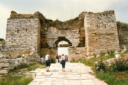 altes Stadttor in Selcuk Mai 1988