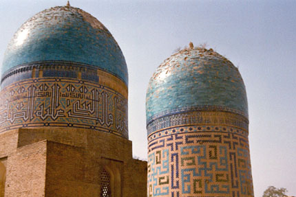 Schah-i-Sinda Nekropole in Samarkand September 1987