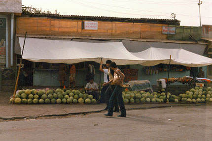 auf dem Markt in Samarkand September 1987