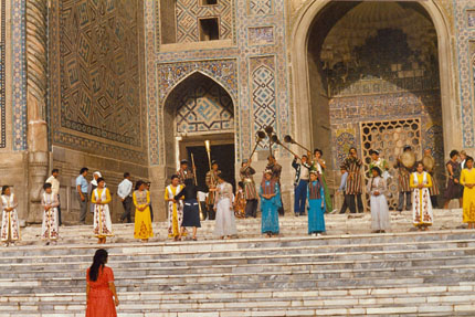 Folklore in Samarkand September 1987